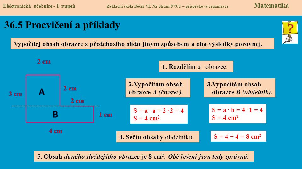 36.5 Procvičení a příklady A B