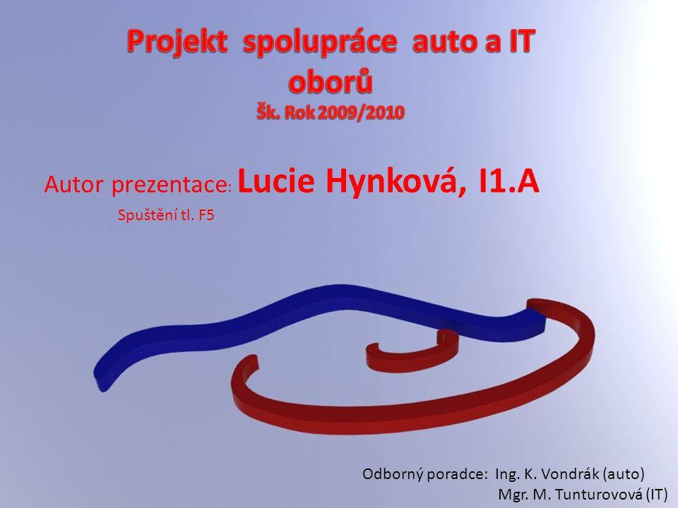 Projekt spolupráce auto a IT oborů