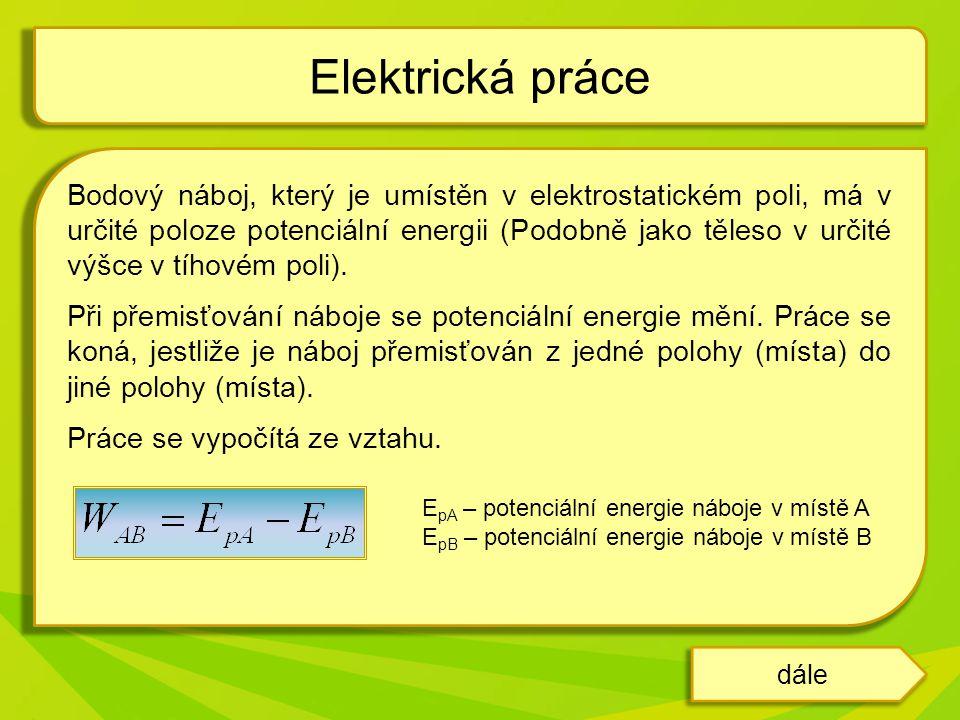 Elektrická práce