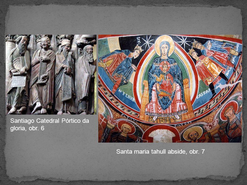 Santiago Catedral Pórtico da gloria, obr. 6