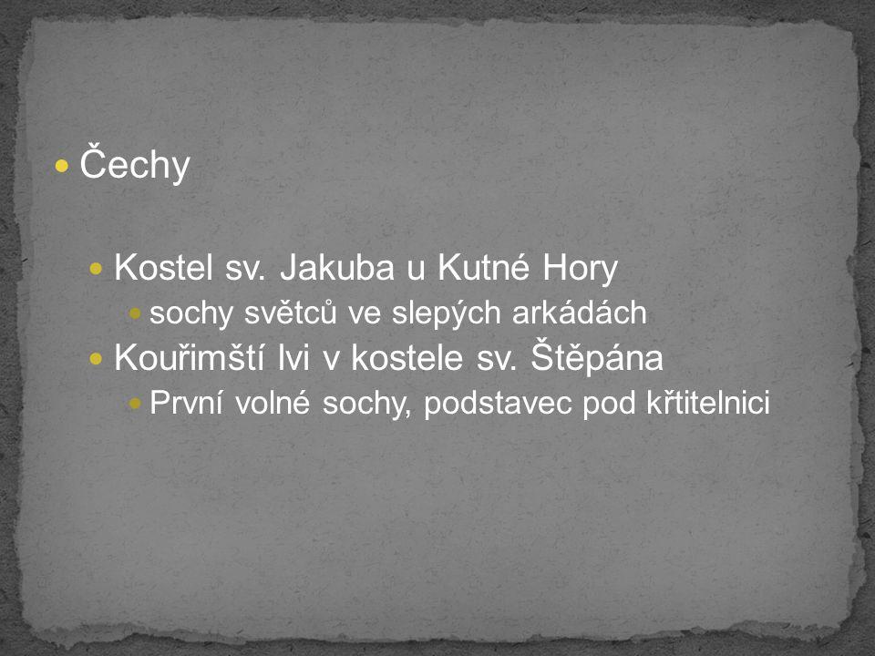 Čechy Kostel sv. Jakuba u Kutné Hory