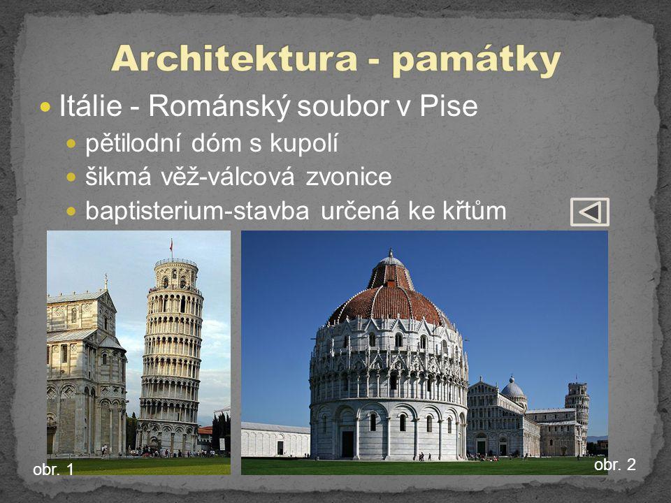Architektura - památky