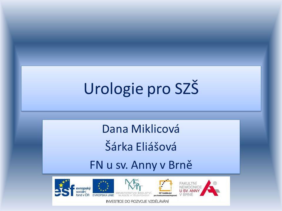 Dana Miklicová Šárka Eliášová FN u sv. Anny v Brně