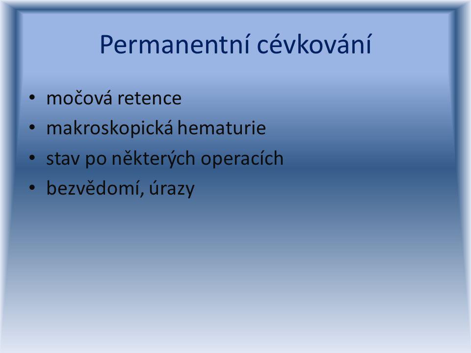 Permanentní cévkování
