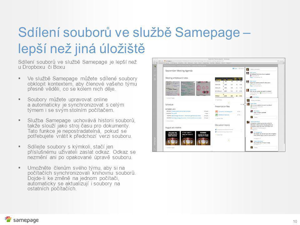 Sdílení souborů ve službě Samepage – lepší než jiná úložiště