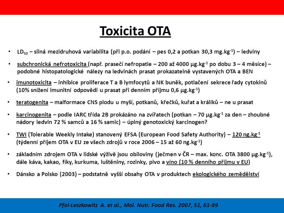 Pfol-Leszkowitz A. et al., Mol. Nutr. Food Res. 2007, 51, 61-99