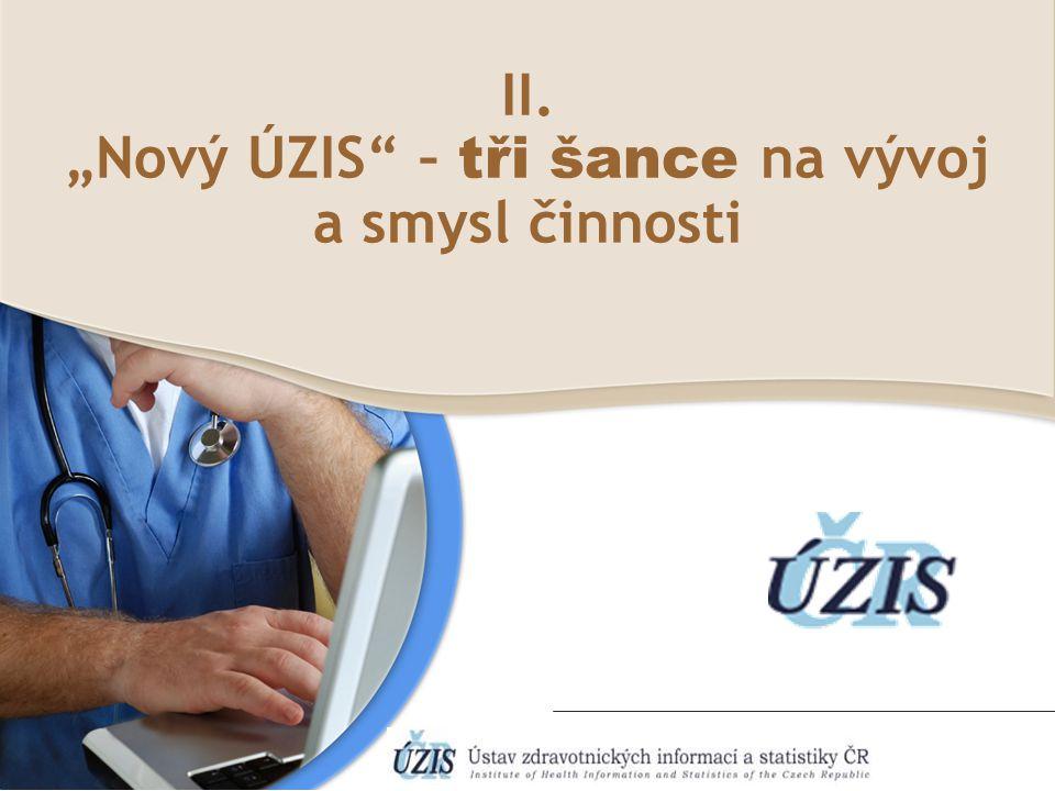 """""""Nový ÚZIS – tři šance na vývoj"""