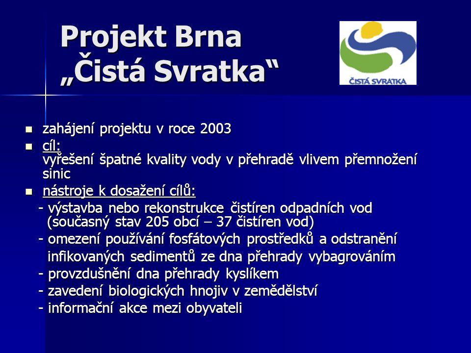 """Projekt Brna """"Čistá Svratka"""