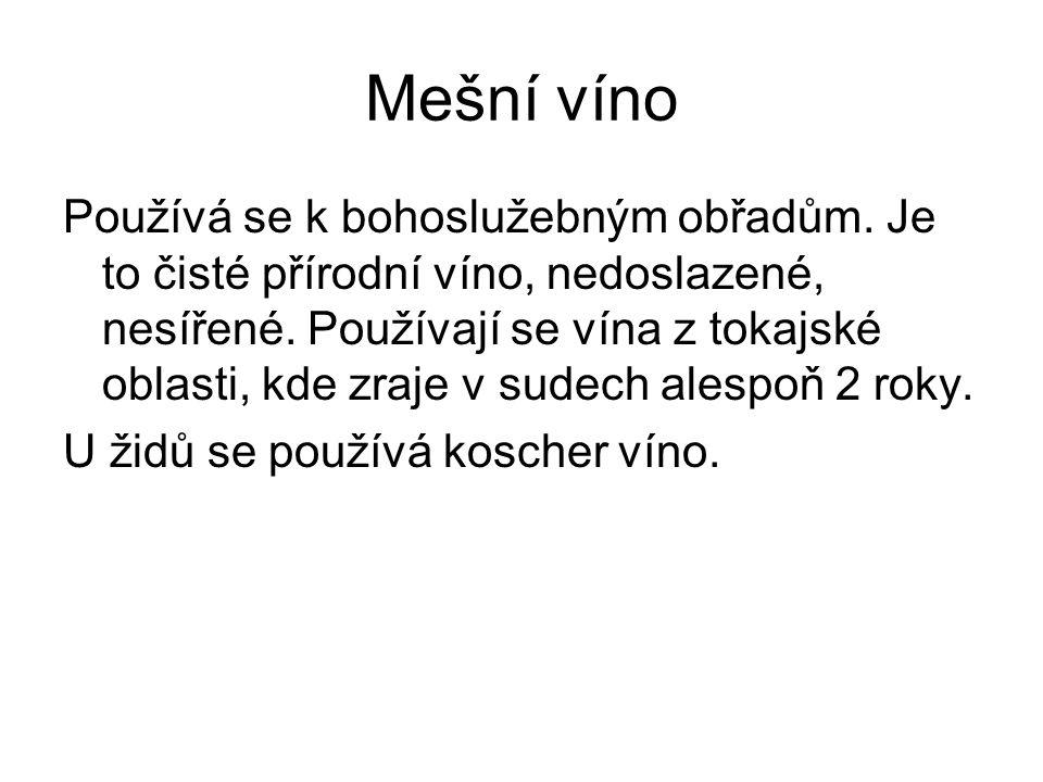 Mešní víno