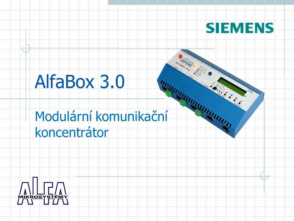 Modulární komunikační koncentrátor