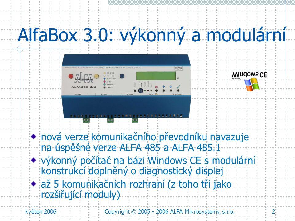 AlfaBox 3.0: výkonný a modulární