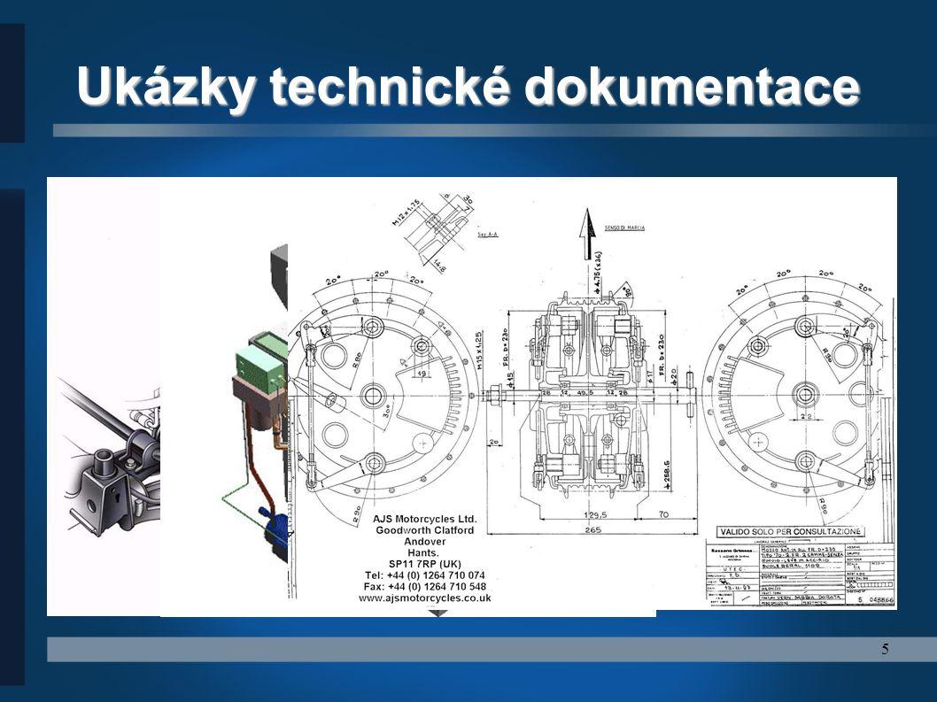 Ukázky technické dokumentace
