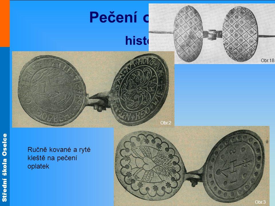 Pečení oplatek historie Ručně kované a ryté kleště na pečení oplatek