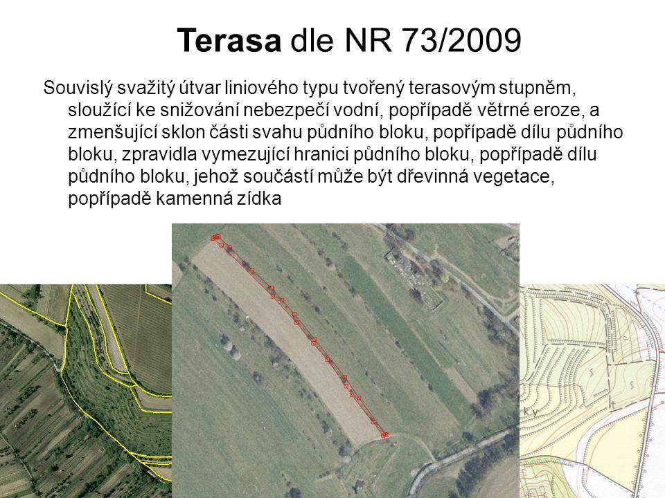 Terasa dle NR 73/2009
