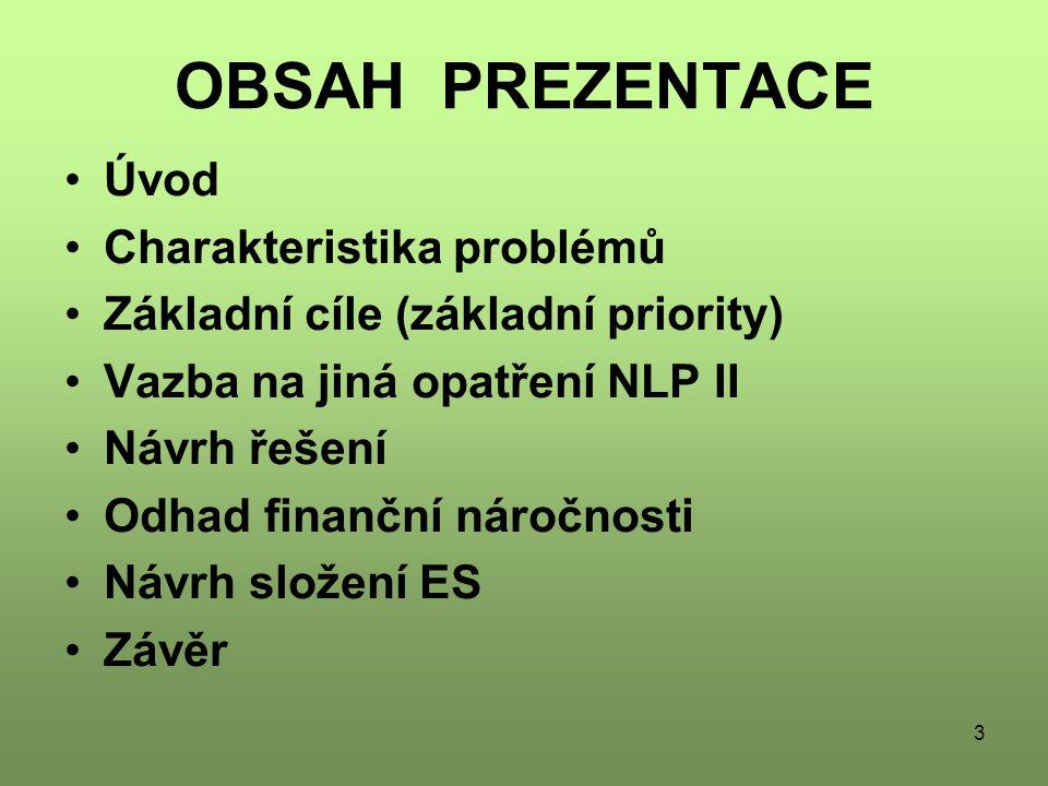 OBSAH PREZENTACE Úvod Charakteristika problémů