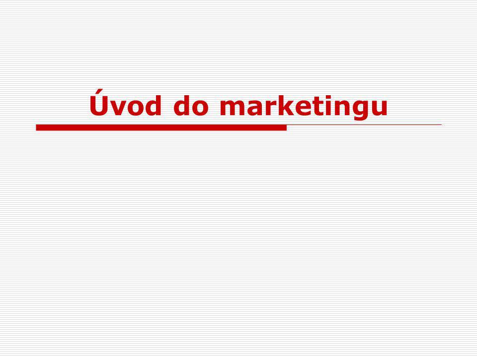 Úvod do marketingu