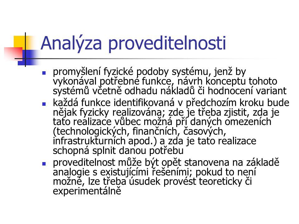 Analýza proveditelnosti