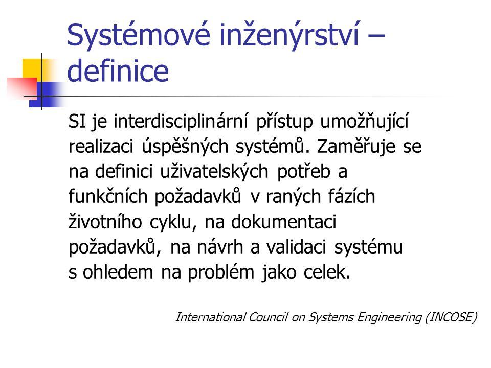 Systémové inženýrství – definice