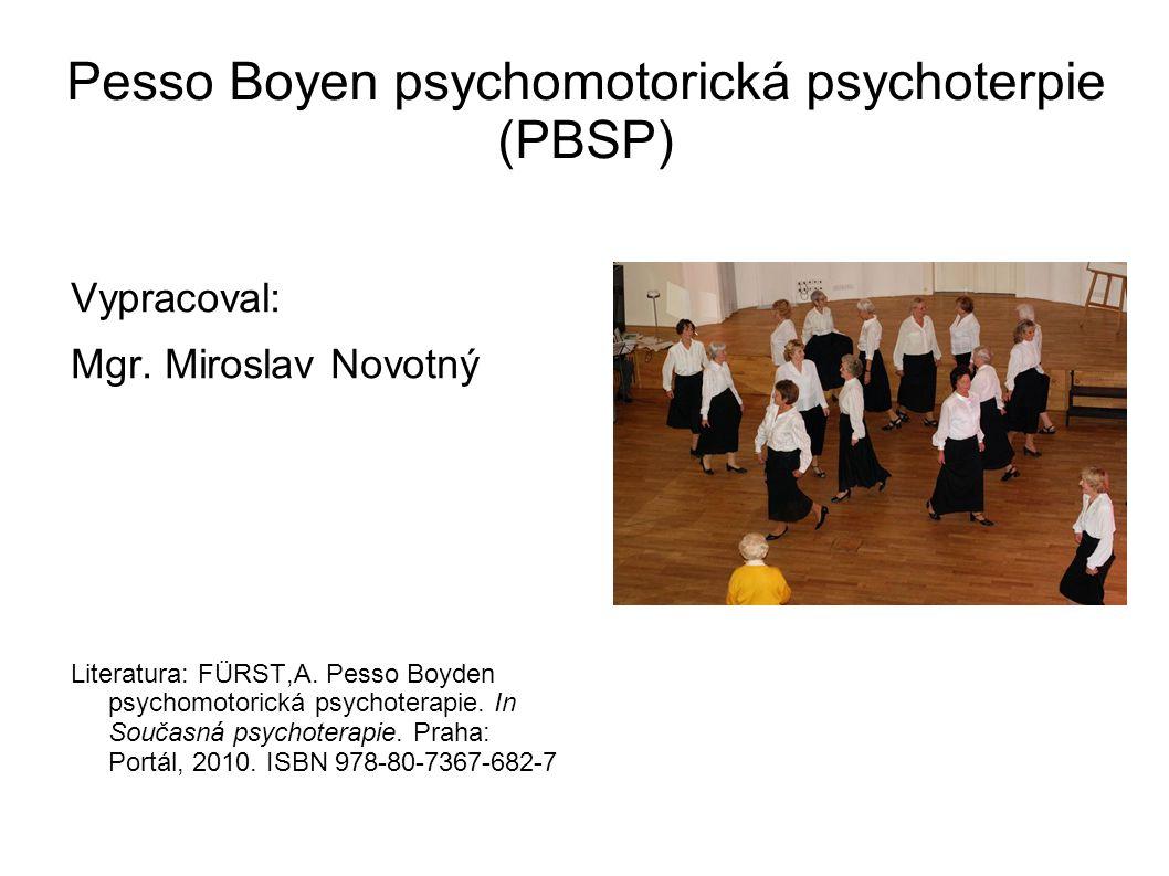 Pesso Boyen psychomotorická psychoterpie (PBSP)