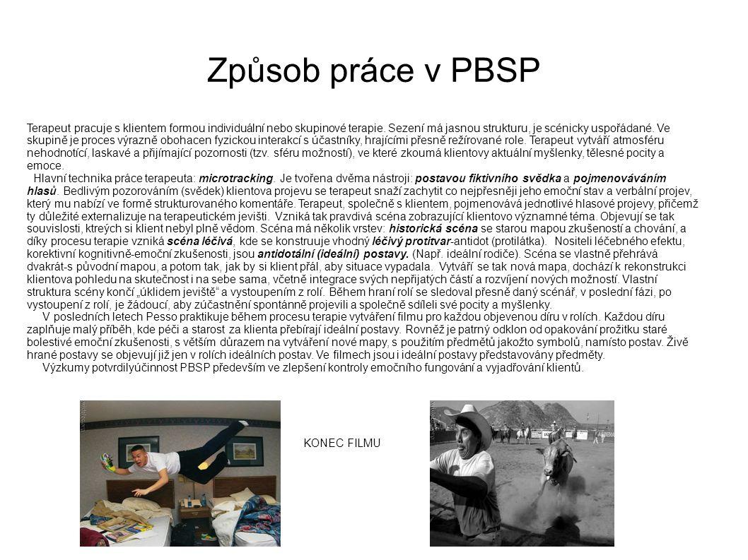 Způsob práce v PBSP