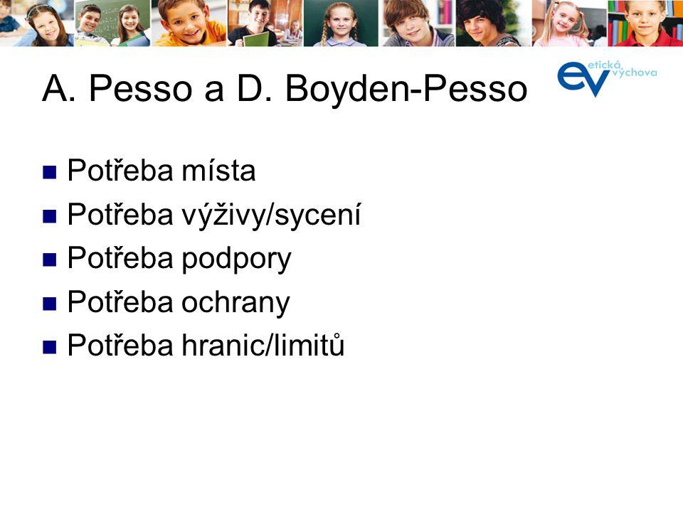 A. Pesso a D. Boyden-Pesso