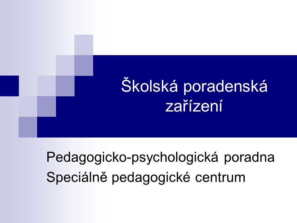 Školská poradenská zařízení