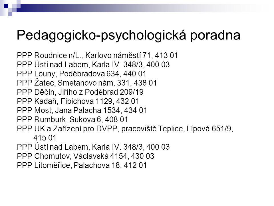 Pedagogicko-psychologická poradna