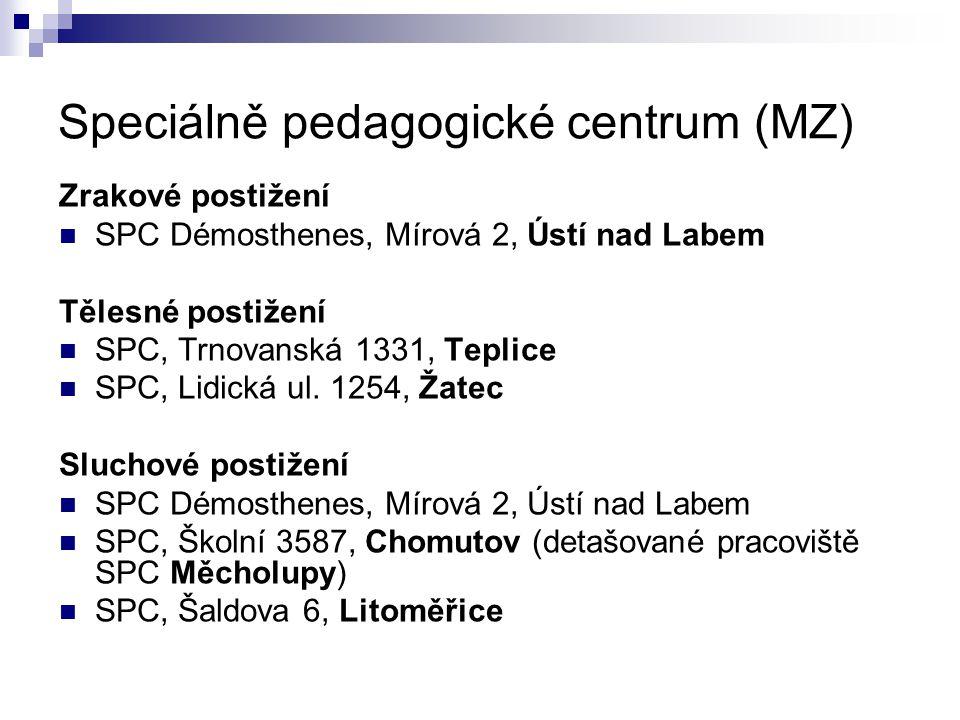 Speciálně pedagogické centrum (MZ)
