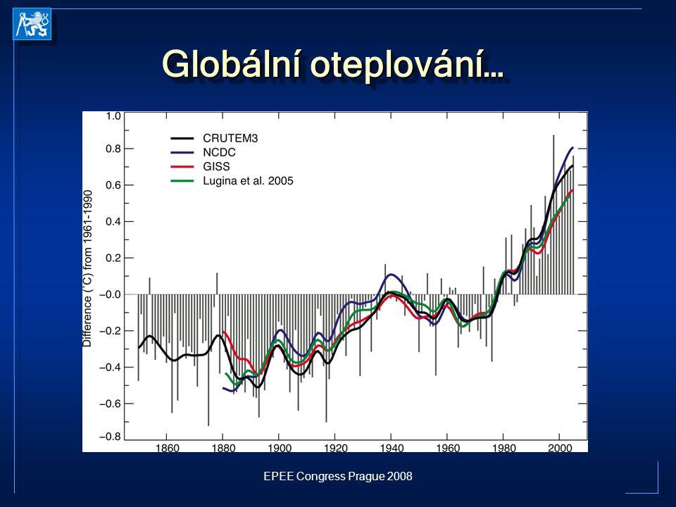 Globální oteplování…