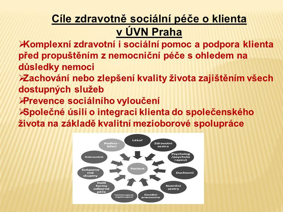 Cíle zdravotně sociální péče o klienta