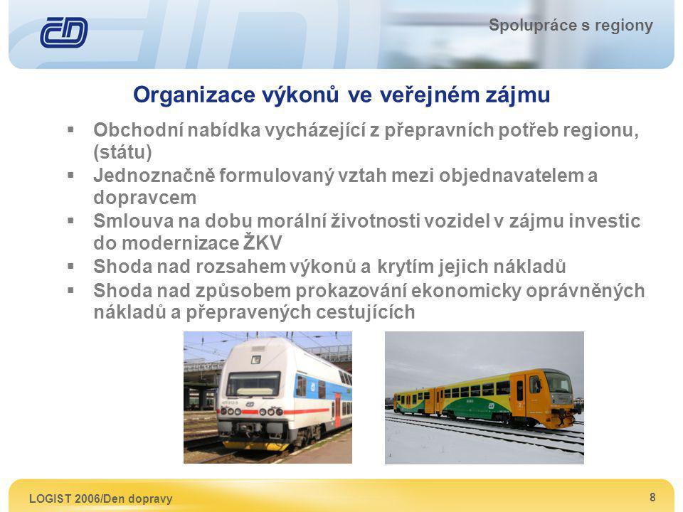 Organizace výkonů ve veřejném zájmu