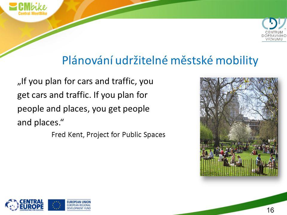 Plánování udržitelné městské mobility