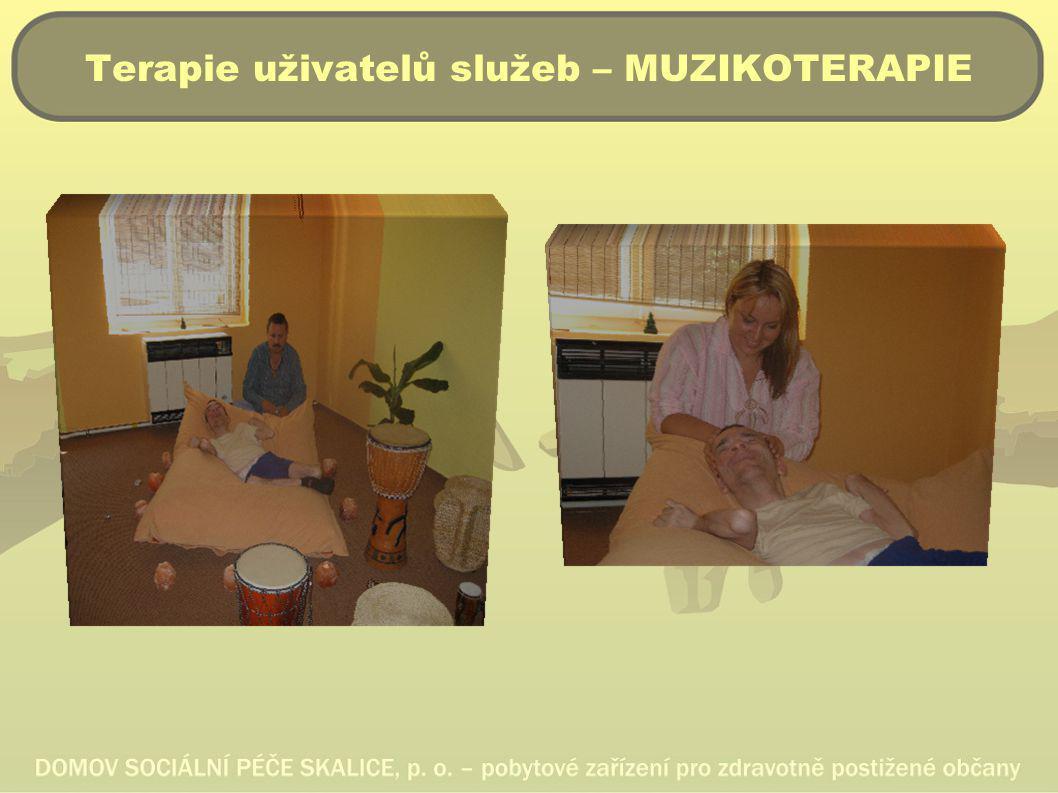 Terapie uživatelů služeb – MUZIKOTERAPIE