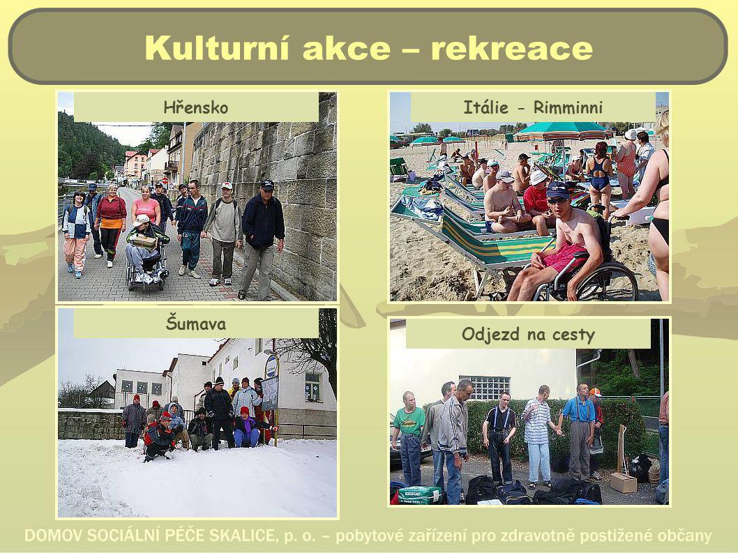 Kulturní akce – rekreace