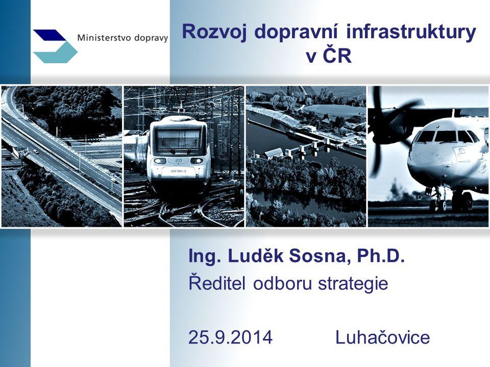 Rozvoj dopravní infrastruktury v ČR