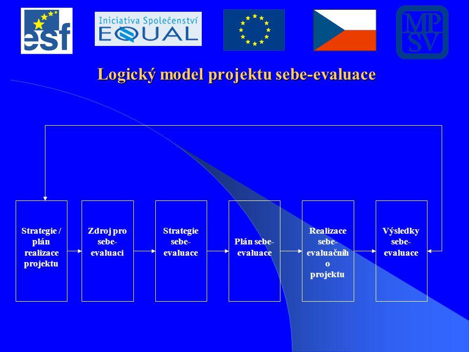 Logický model projektu sebe-evaluace