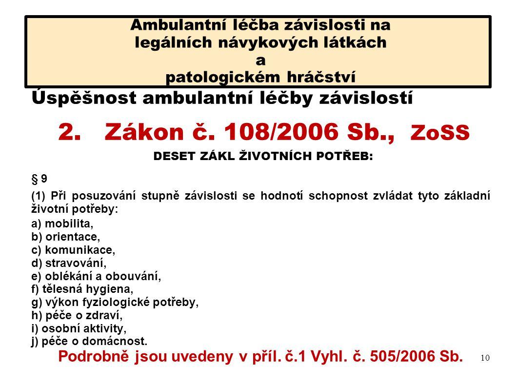 Podrobně jsou uvedeny v příl. č.1 Vyhl. č. 505/2006 Sb.