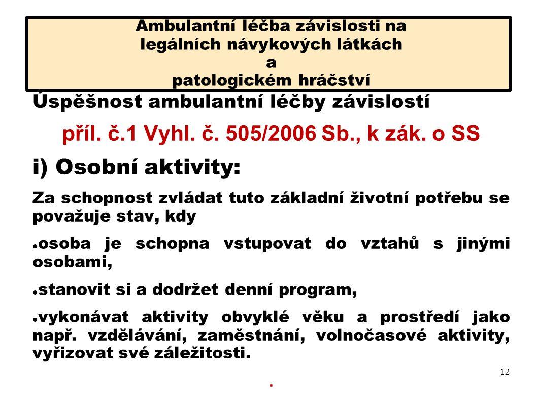 příl. č.1 Vyhl. č. 505/2006 Sb., k zák. o SS