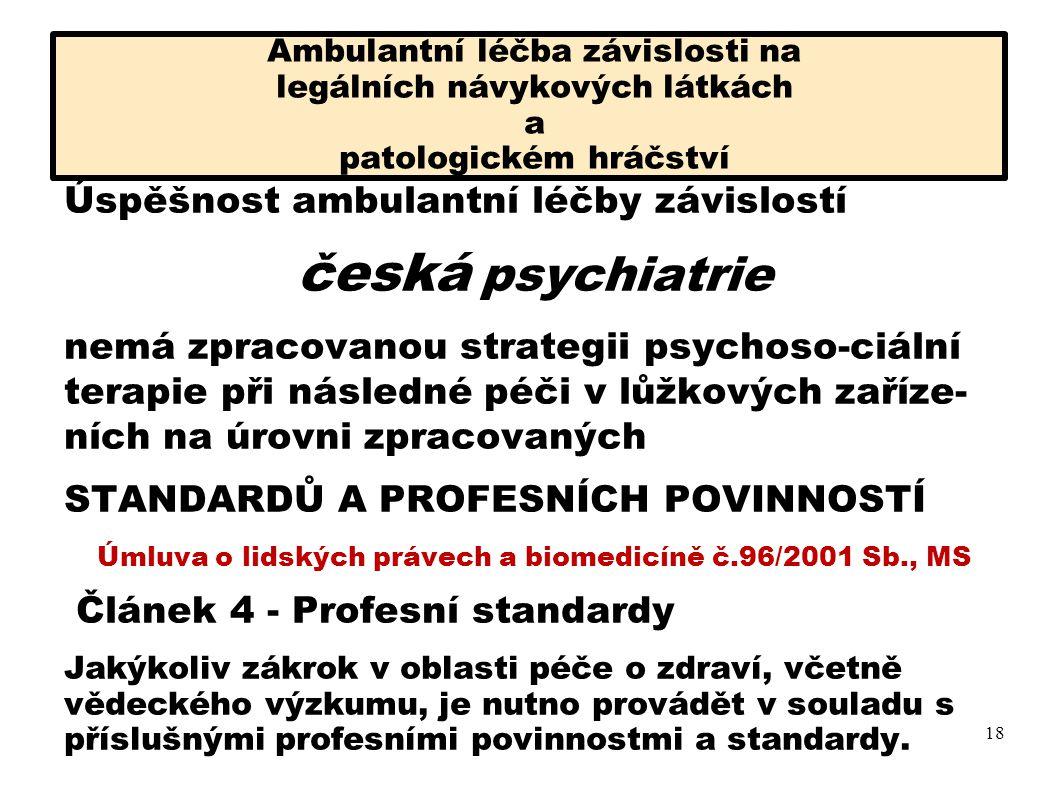 Úmluva o lidských právech a biomedicíně č.96/2001 Sb., MS