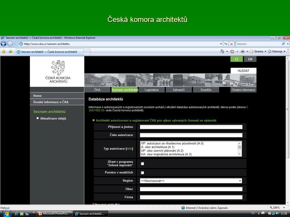 Česká komora architektů