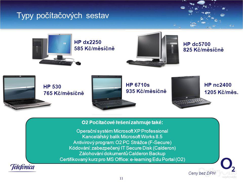 Typy počítačových sestav