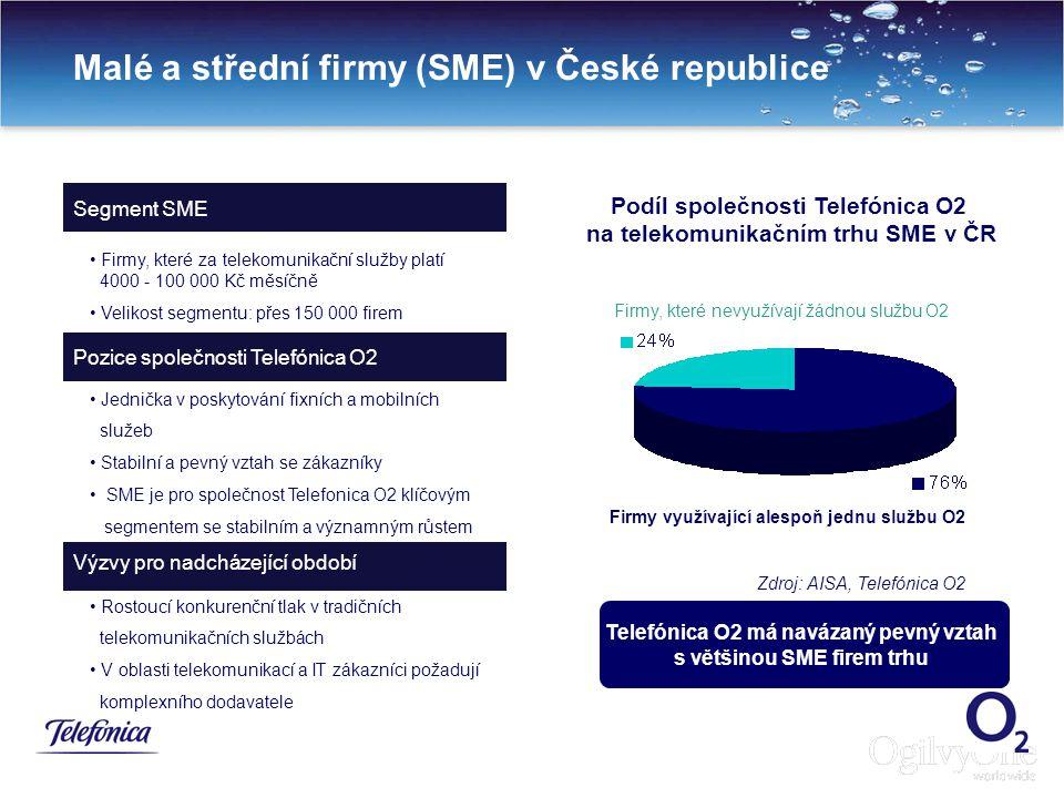Malé a střední firmy (SME) v České republice