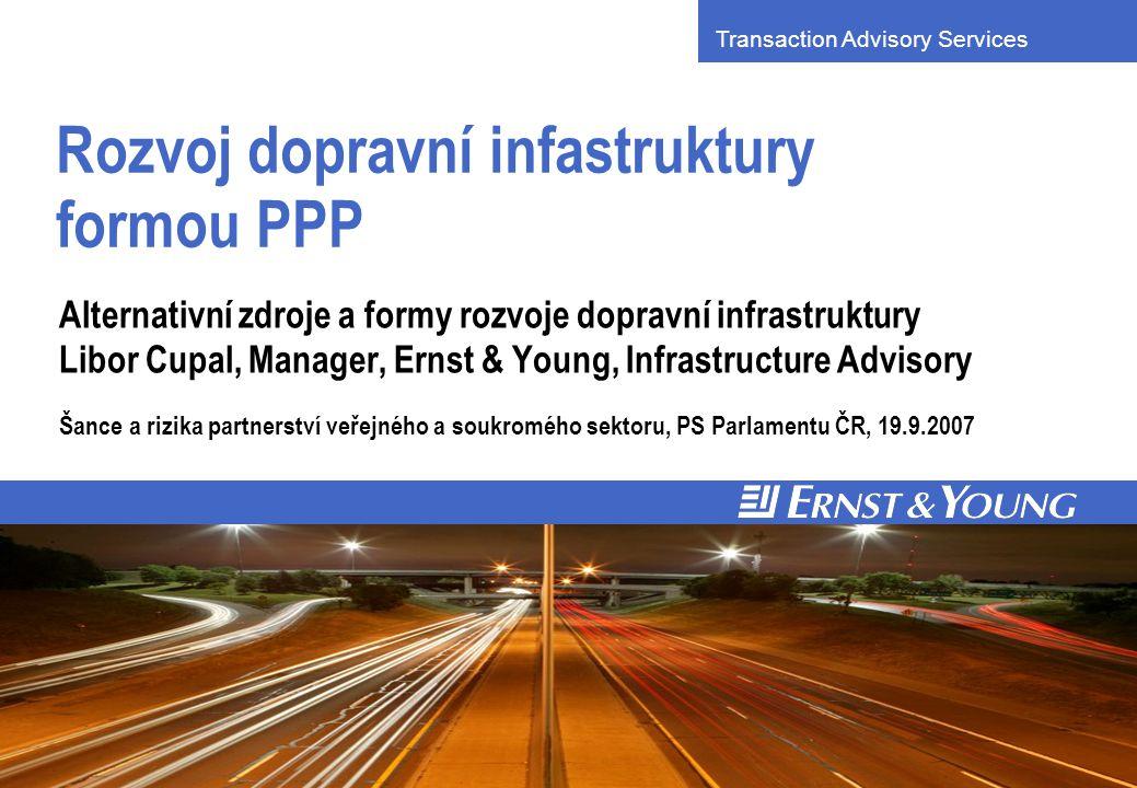 Dopravní infrastruktura podmínkou růstu