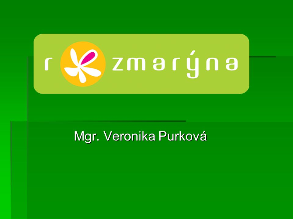 Mgr. Veronika Purková