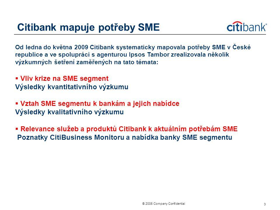 Citibank mapuje potřeby SME