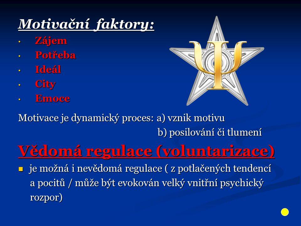 Vědomá regulace (voluntarizace)