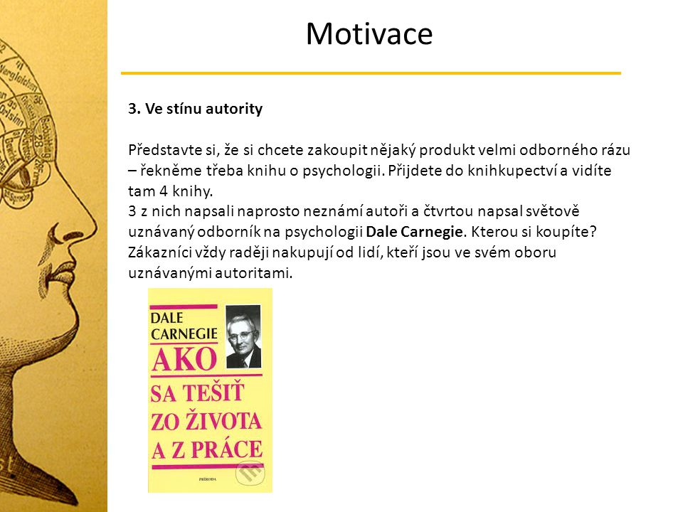 Motivace 3. Ve stínu autority