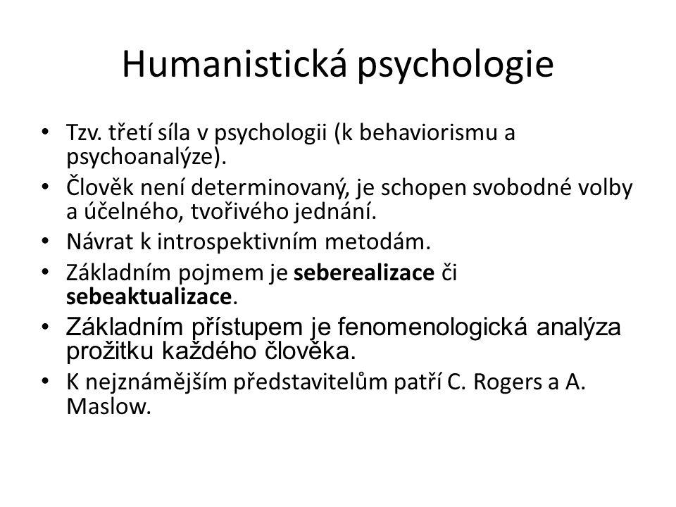 Humanistická psychologie