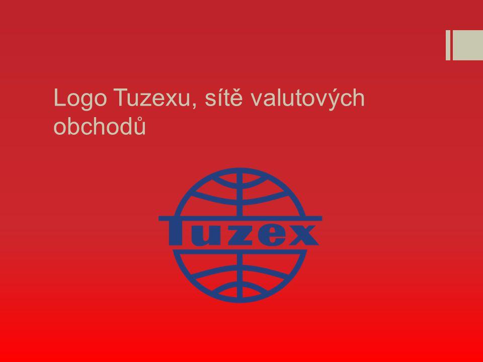 Logo Tuzexu, sítě valutových obchodů