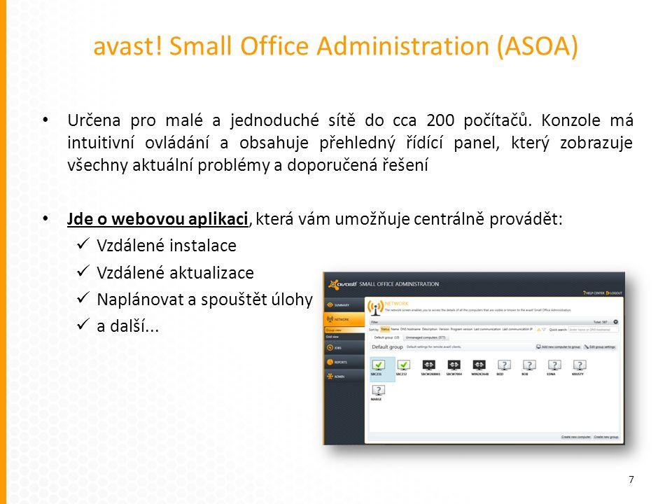 avast! Small Office Administration (ASOA)